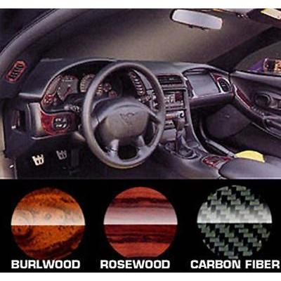Corvette Interior Dash Kit - Burlwood : 1997-2004 C5 & Z06