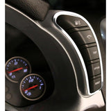 Corvette Interior Dash Kit 9 Pc. - Stainless Steel : 2005-2013 C6,Z06,ZR1,Grand Sport,0