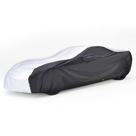 Corvette Intro-Guard Car Cover - Embossed - Indoor/Outdoor - Silver/Black : C7 Stingray, Z51, Z06, Grand Sport