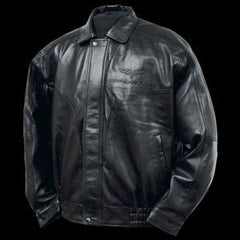 Corvette Jacket - Leather with Embossed C6 Emblem 2005-2013