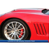 Corvette L88 Hood w/Polycarbonate Window - ACS Composite 2005-2013 C6, Z06, Grand Sport, ZR1