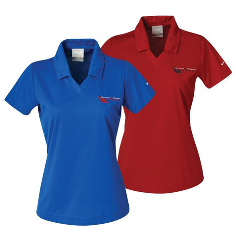 Corvette Ladies - Embroidered Grand Sport Logo - Nike Dri-fit Polo,Apparel