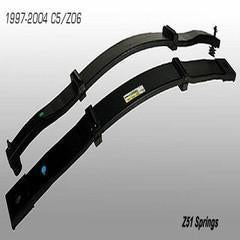 Corvette Leaf Springs - GM Z51 Package : 1997-2004 C5 & Z06
