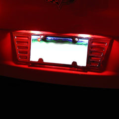 Corvette License Plate Bright White LED : 2005-2013 C6