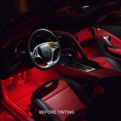 Corvette Map Light Color Tinting : C7 Stingray, Z51, Z06