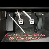 Corvette Mild2Wild Exhaust Control - Old School Kit : 2006-2013 C6,Z06,ZR1,Exhaust
