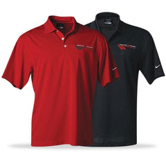 Corvette Polo - Grand Sport Nike DriFit - Black or Red