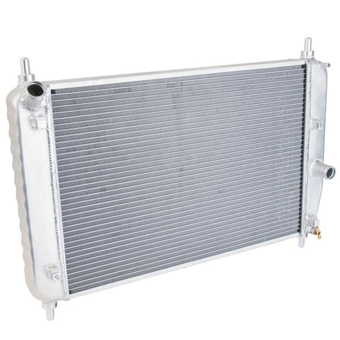 Corvette Radiator Direct Fit Aluminum : 2006-2013 Z06 with Engine Oil Cooler and Trans Cooler