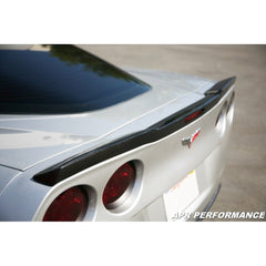 Corvette Rear Spoiler - Carbon Fiber : 2005-2013 C6,Z06 and Grand Sport