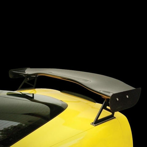 "Corvette Rear Wing - GTC-500 Adjustable Wing 70"" : 2005-2013 C6,Z06,ZR1,Grand Sport,Exterior"