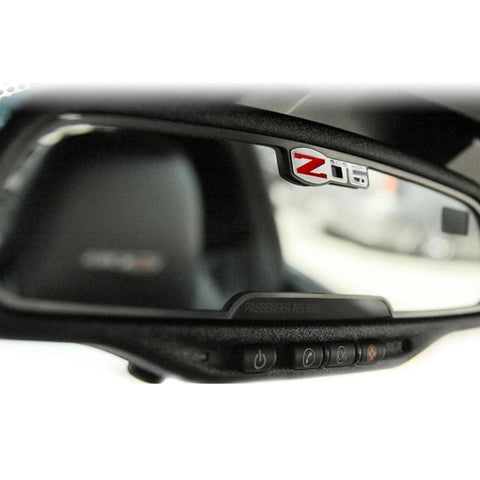 Corvette Rearview Mirror Trim - Stainless Steel : 2005-2013 C6 Z06 505HP,Interior