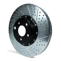 Corvette Rotors Drilled and Slotted with Zinc - Baer EradiSpeed+ : 2006-2013 C6 Z06, Grand Sport