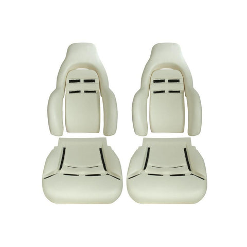 Corvette Seat Foam - New Replacement : 1997-2004 C5 & Z06