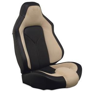 Corvette Sport Seat Foam & Seat Covers - Tan/Black
