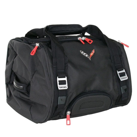 Corvette Stingray Duffel Bag with C7 Cross Flags Logo,Accessories