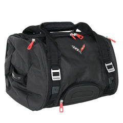 Corvette Stingray Duffel Bag with C7 Cross Flags Logo