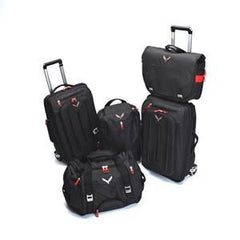 Corvette Stingray Luggage with C7 Cross Flags Logo - 5-Piece Set : C7