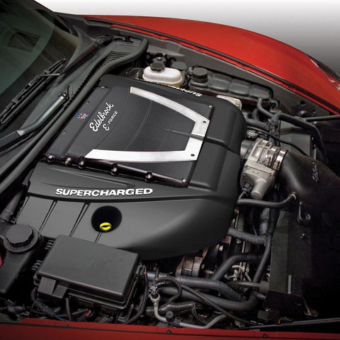 Corvette Supercharger Kit - Edelbrock E-Force (599HP) : 2010-2013 Grand Sport LS3 w/ Dry Sump