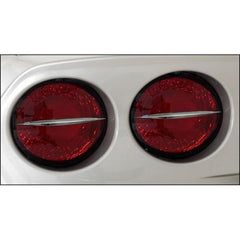 Corvette Taillight Spears - Billet Chrome 4 Pc. (05-13 C6 / C6 Z06)