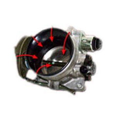 Corvette Throttle Body Velocity Stack - Vararam VR3 (97-04 C5 / C5 Z06)