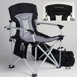 Corvette Travel Chair with C7 Stingray Logo Black/Grey,Home & Office