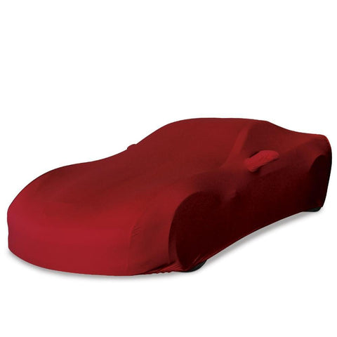 Corvette Ultraguard Plus Stretch Satin Car Cover - Dark Red - Indoor : 2005-2013 C6, Z06, ZR1, Grand Sport,Car Care