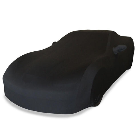 Corvette Ultraguard Plus Stretch Satin Car Cover- Black - Indoor : 2005-2013 C6, Z06, ZR1, Grand Sport