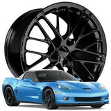 Corvette Wheel - 2009 ZR1 Style Reproduction : Gloss Black,Wheels & Tires