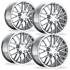 Corvette Wheel - 2009 ZR1 Style Reproduction (Set) : Chrome