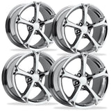 Corvette Wheel - 2010 Grand Sport Style Reproduction (Set) - Chrome,Wheels & Tires