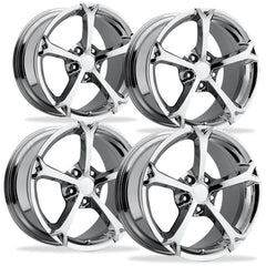 Corvette Wheel - 2010 Grand Sport Style Reproduction (Set) - Chrome
