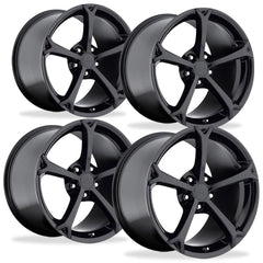 Corvette Wheel - 2010 Grand Sport Style Reproduction (Set) - Gloss Black