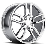 Corvette Wheel - C7 Corvette Stingray Z51 Split Spoke GM : Chrome,Wheels & Tires