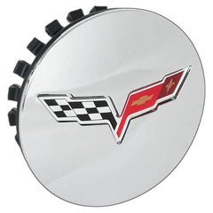 Corvette Wheel Center Cap - Chrome GM (08-13 C6 / C6 Z06 / C6 ZR1)