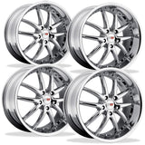 Corvette Wheel Package - SR1 Series APEX Chrome - (Set),Wheels & Tires