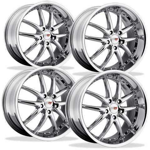 Corvette Wheel Package - SR1 Series APEX Chrome - (Set)
