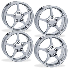 Corvette Wheels - 2000-04 Style Reproduction (Set) : Chrome