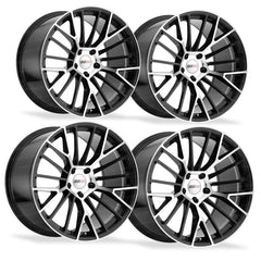 Corvette Wheels - Cray Astoria (Set) : Gloss Black with Mirror Face