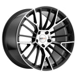 Corvette Wheels - Cray Astoria (Set) : Gloss Black with Mirror Face,Wheels & Tires
