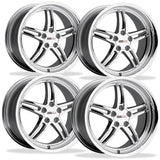 Corvette Wheels - Cray Scorpion (Set) : Chrome,Wheels & Tires