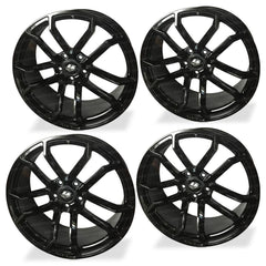 Corvette Wheels - LG Motorsports GR7 (Set) : Satin Black