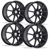 Corvette Wheels - TSW Interlagos (Set) : Matte Black,Wheels & Tires