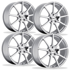 Corvette Wheels - TSW Interlagos (Set) : Silver with Mirror Cut