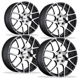 Corvette Wheels - TSW Nurburgring (Set) : Gunmetal with Machined Face,Wheels & Tires