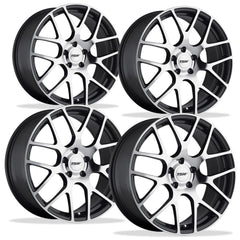 Corvette Wheels - TSW Nurburgring (Set) : Gunmetal with Machined Face
