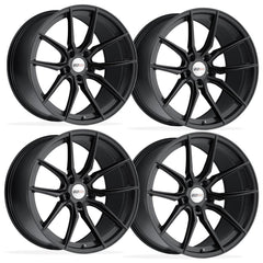 Corvette Wheels (Set) - Cray Spider - Matte Black