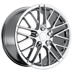 Corvette ZR1 Style Wheel - Chrome