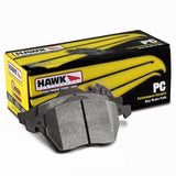Hawk Ceramic Brake Pads (97-04 C5 & C5 Z06 / 05-13 C6 Rear Pads),Brakes