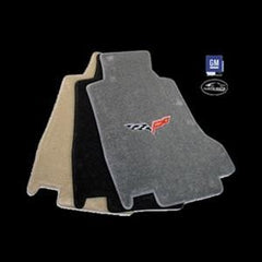 Lloyds Ultimat Floor Mats - C6 Emblem Only - Steel Grey : 2005-2007