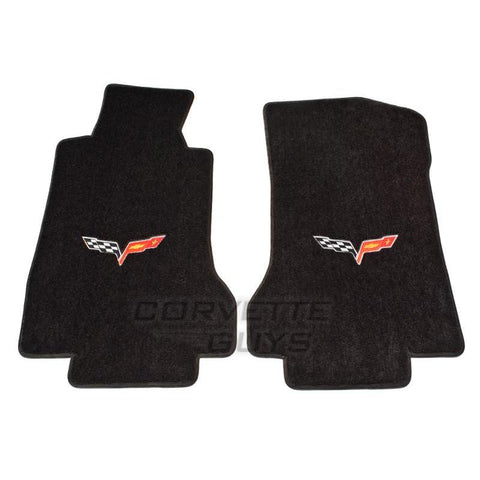 Lloyds Ultimat Floor Mats - Ebony (05-07 C6),Interior